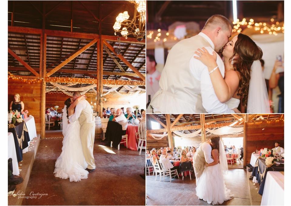 1st dance Robinson Family Ranch Wedding- Rubidia Castrejon Photography-Oakdale