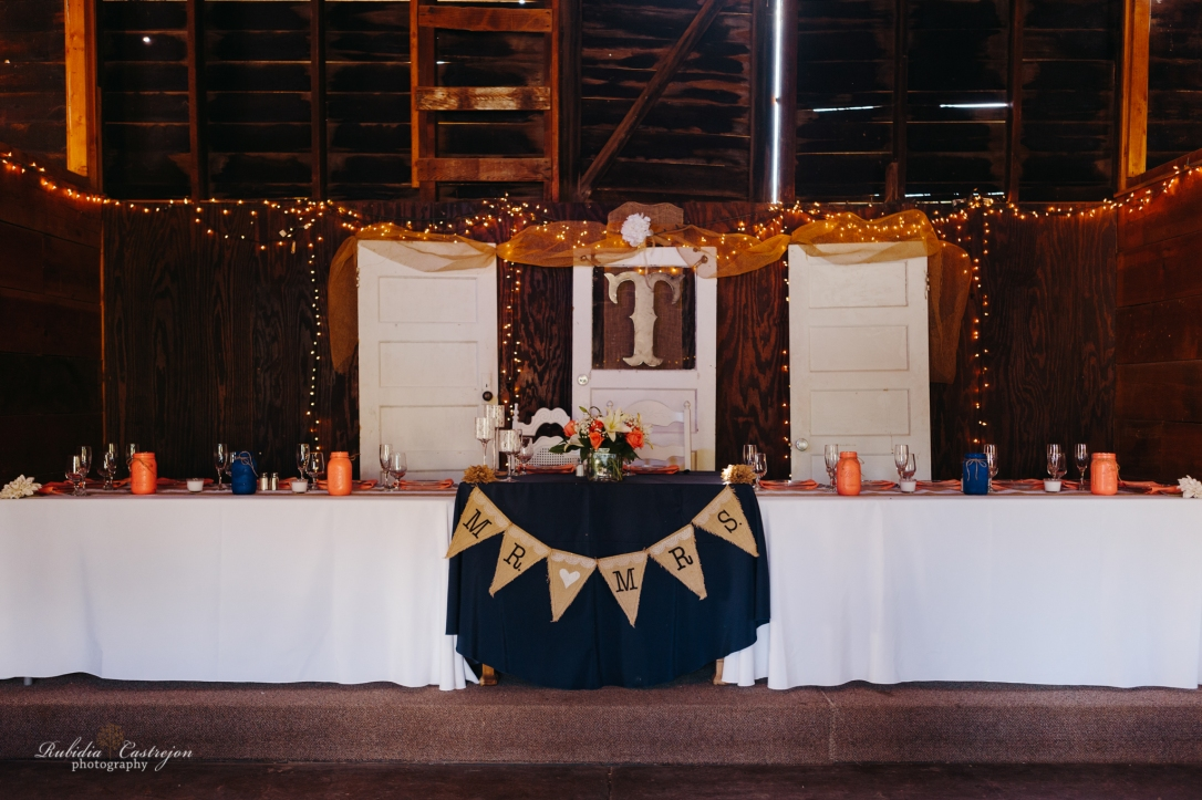 barn theme Robinson Family Ranch Wedding- Rubidia Castrejon Photography-Oakdale