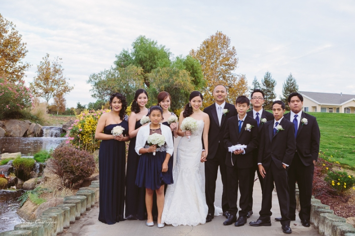 Golf Course of Brentwood wedding rubidia c photography 16a