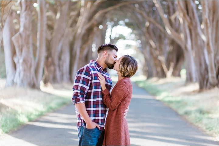 Point Reyes Cypress Tree Tunnel | Engagement Session